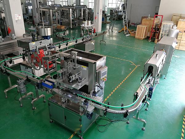 全自动整套粉剂灌装生产线